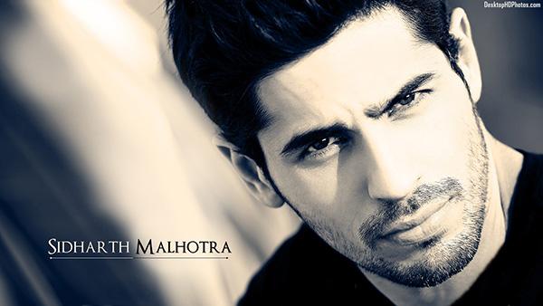 8. Sidharth Malhotra.